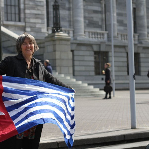 Catherine Delahunty MP support freedom for West Papua