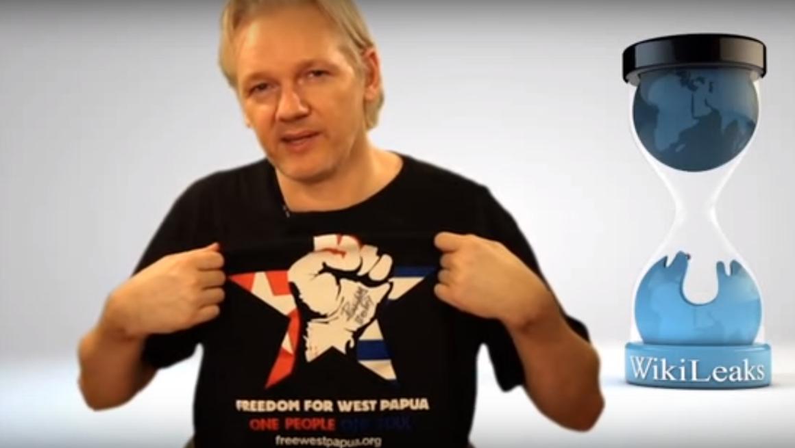 julian assange for west papua