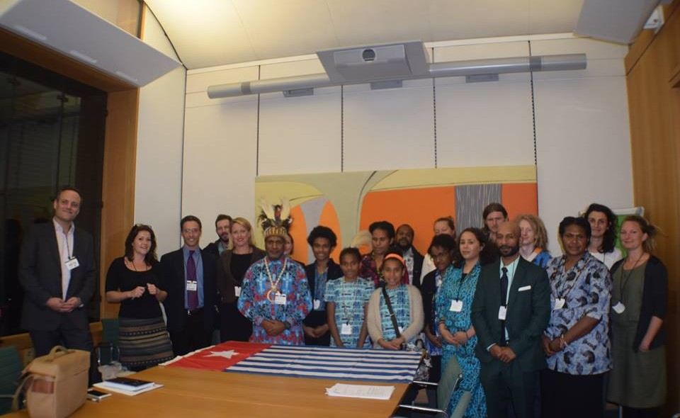 All Party Parliamentary on West Papua British Parliament  front