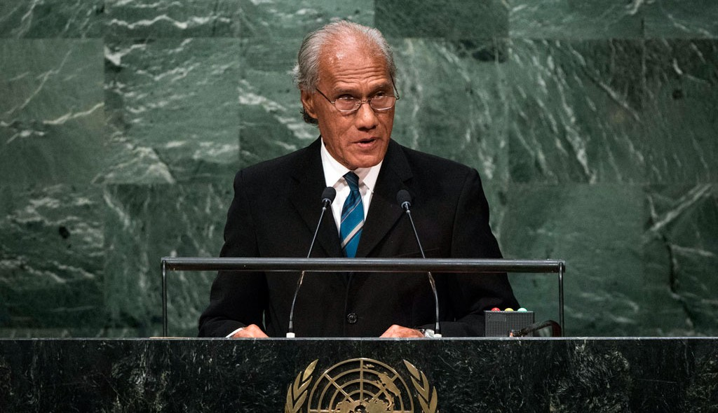 Official statement from Tonga Prime Minister Samiuela 'Akillisi Pohiva west papua united nations