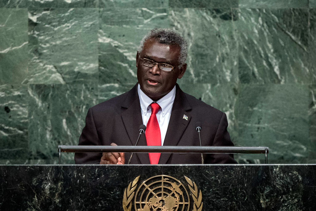 Solomon Islands H.E. Mr. Manasseh Sogavare Prime Minister  General Assembly 70th session 22nd plenary meeting