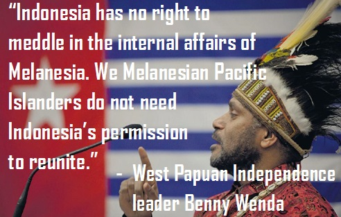 Benny Wenda on Melanesian reunification
