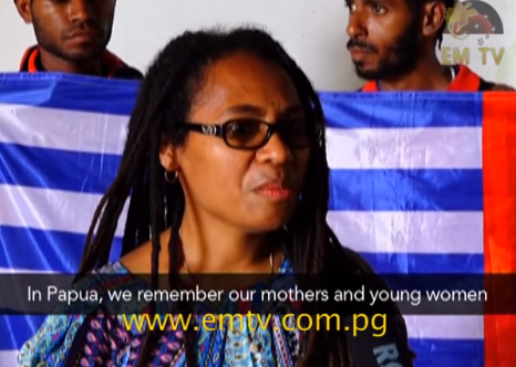 FWPC PNG interviewed by EMTV 10th December 2015 human rights day